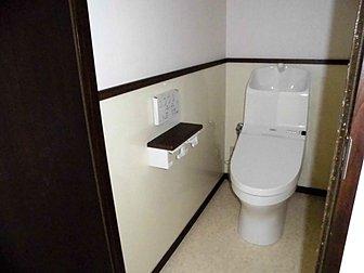 大分市でトイレ改修工事を行いました。