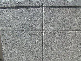 大分市にてニューアールダンテでコンクリートブロック塀の塗装を行いました。