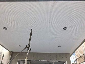 大分市で天井面の張り替え工事をおこないました。