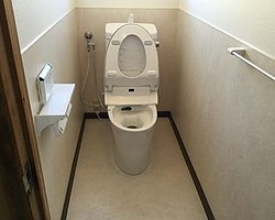 大分市でトイレのリフォームを行いました。のイメージ