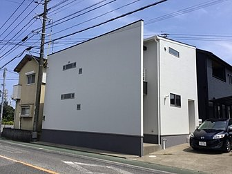 大分市で戸建て住宅の外壁の塗装工事を行いました。
