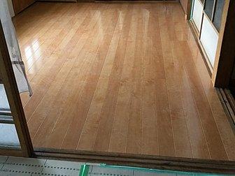 大分市で床の張替工事を行いました。