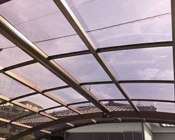 大分市でカーポートの屋根の張り替え施工をしました。のイメージ