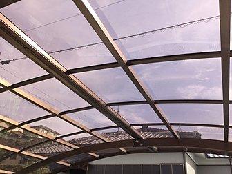 大分市でカーポートの屋根の張り替え施工をしました。