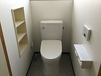 大分市でトイレのリフォームを行いました。