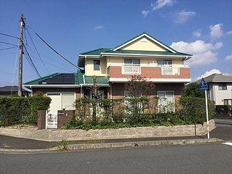 大分市で 戸建て住宅の全塗装工事を行いました。