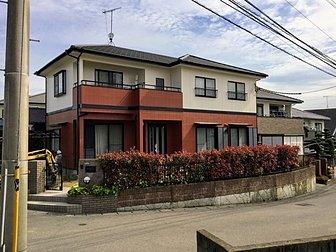 大分市横尾地区で住宅の塗装工事を行いました。